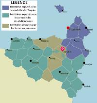 Carte du réseau routier et autoroutier au Varanya