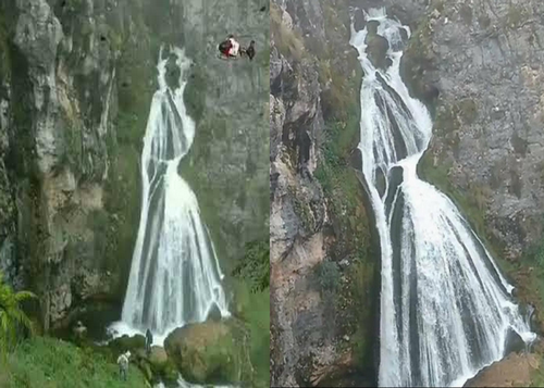 Cascade de la Dame Blanche