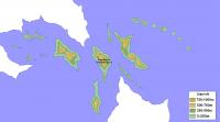 carte iles fédérées noms d'îles