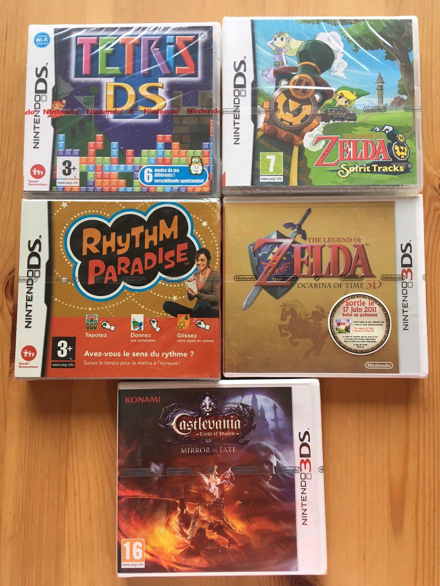 [VDS/ECH] lot jeux GB et boitiers GB + lot jeux PS1 + boites consoles PS4  + super SF2 complet FAH  210207041830885779