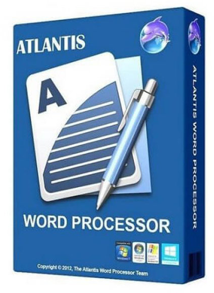 Poster for Atlantis Word Processor