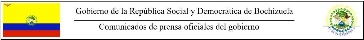 Comunicados de prensa oficiales del gobierno