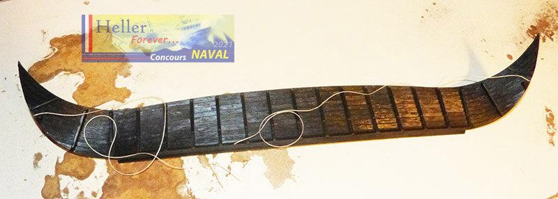 """Navire Amiral """"La Mora"""" de Guillaume Le Conquérant en 1066 1/60ème Réf 80886 - Page 2 210210124811734153"""
