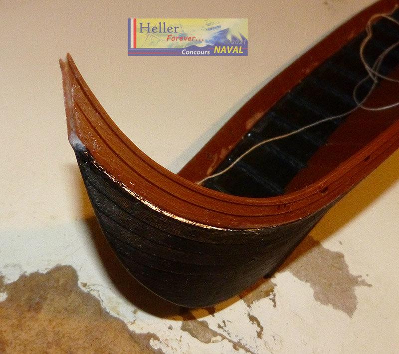 """Navire Amiral """"La Mora"""" de Guillaume Le Conquérant en 1066 1/60ème Réf 80886 - Page 2 210210124814552046"""