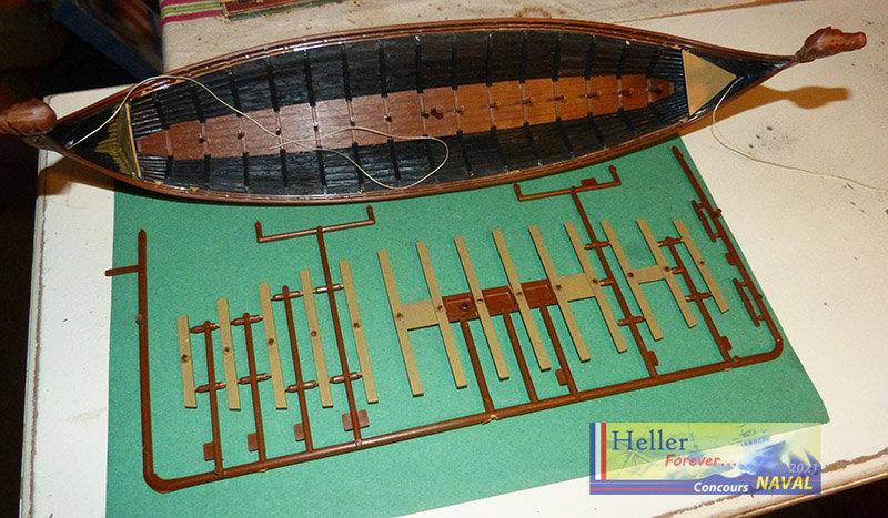 """Navire Amiral """"La Mora"""" de Guillaume Le Conquérant en 1066 1/60ème Réf 80886 - Page 2 210210125321558511"""