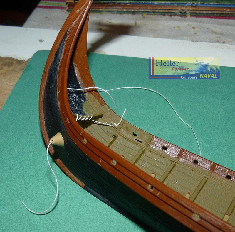 """Navire Amiral """"La Mora"""" de Guillaume Le Conquérant en 1066 1/60ème Réf 80886 - Page 2 21021012532297678"""