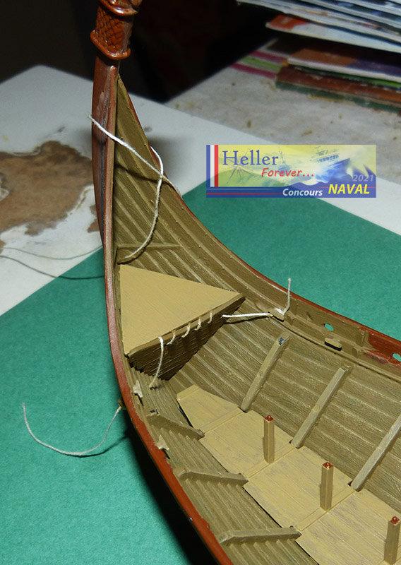 """Navire Amiral """"La Mora"""" de Guillaume Le Conquérant en 1066 1/60ème Réf 80886 - Page 2 21021012532391737"""