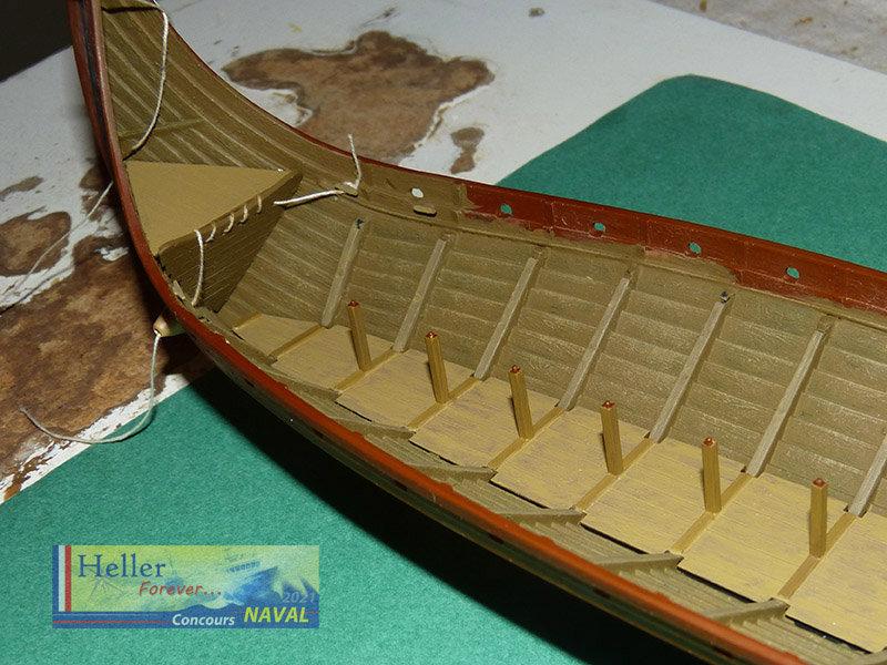"""Navire Amiral """"La Mora"""" de Guillaume Le Conquérant en 1066 1/60ème Réf 80886 - Page 2 210210125842442525"""