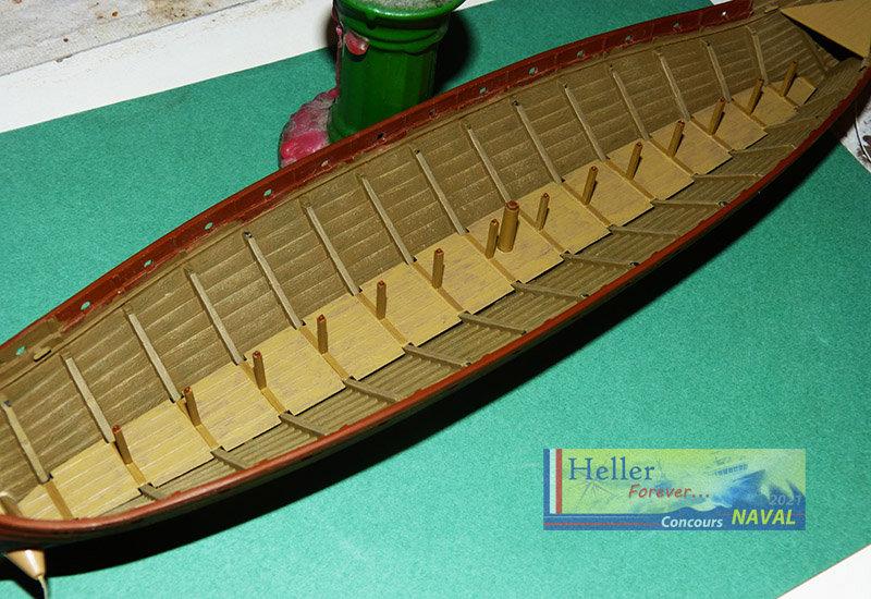 """Navire Amiral """"La Mora"""" de Guillaume Le Conquérant en 1066 1/60ème Réf 80886 - Page 2 210210125842625185"""