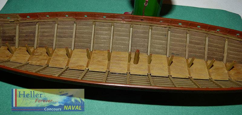 """Navire Amiral """"La Mora"""" de Guillaume Le Conquérant en 1066 1/60ème Réf 80886 - Page 2 210210125843682626"""