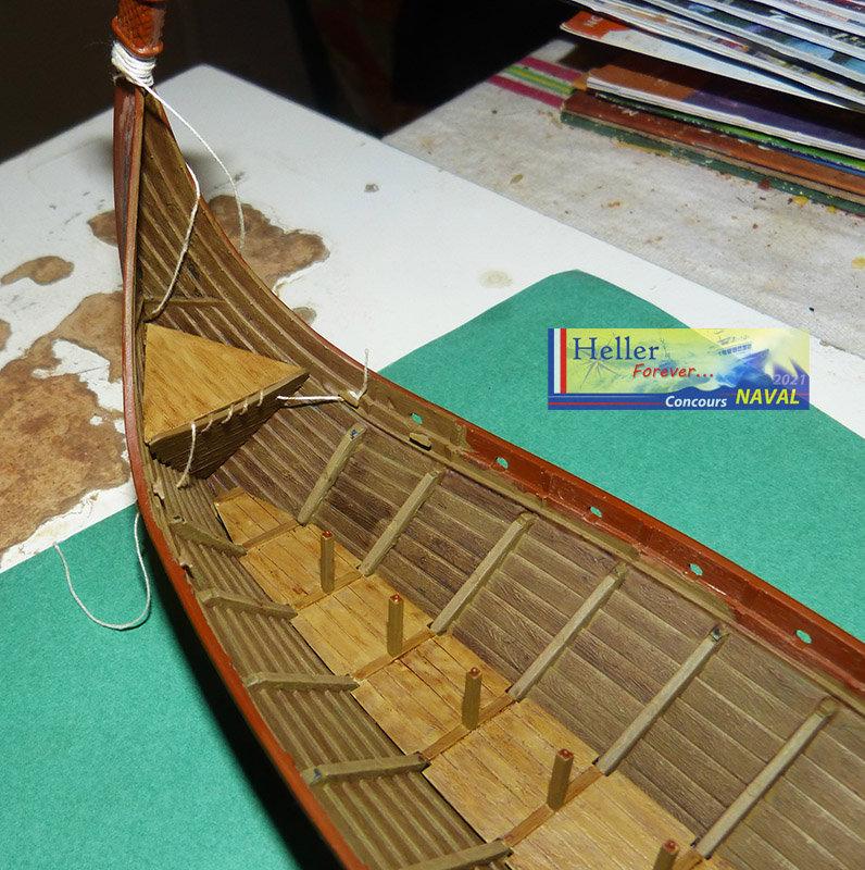 """Navire Amiral """"La Mora"""" de Guillaume Le Conquérant en 1066 1/60ème Réf 80886 - Page 2 210210125844218387"""