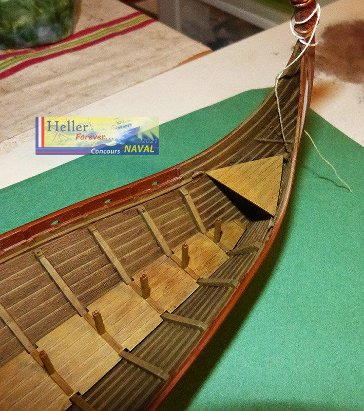 """Navire Amiral """"La Mora"""" de Guillaume Le Conquérant en 1066 1/60ème Réf 80886 - Page 2 210210125844512333"""