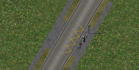 Sreet bus stop