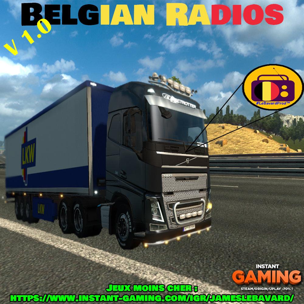 Belgian Radio V1 | JamesLeBavard