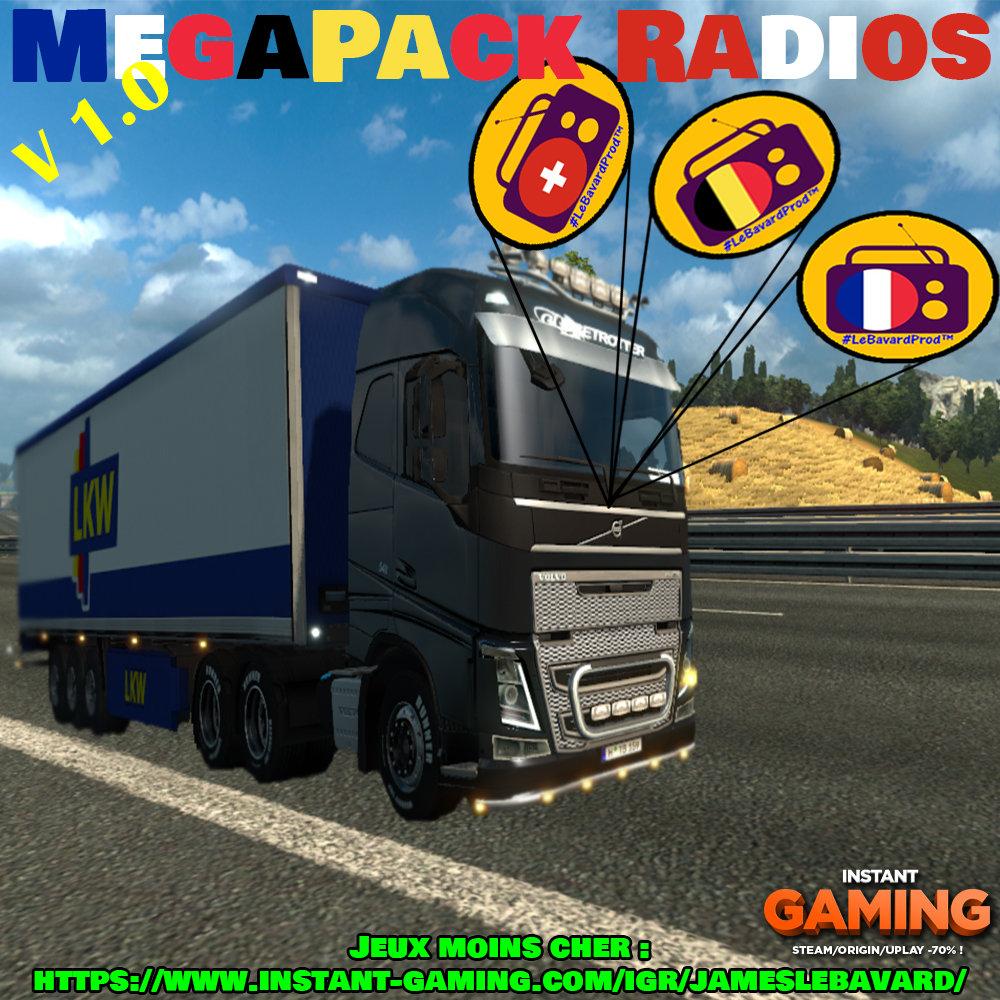 MegaPack Radio V1 | JamesLeBavard
