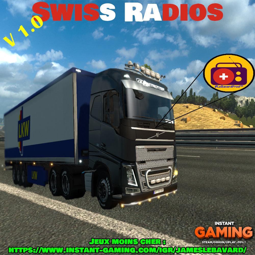 Swiss Radio V1 | JamesLeBavard