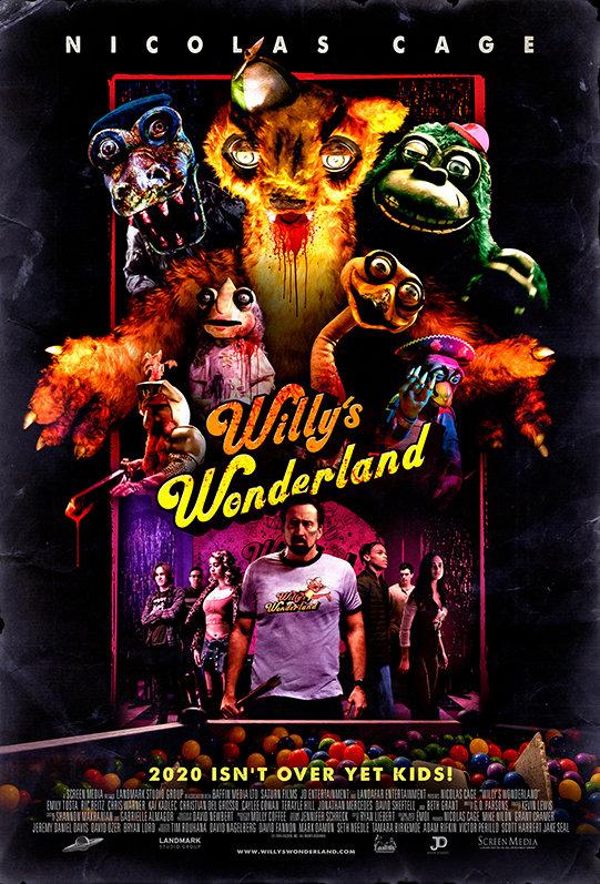 Willys Wonderland (2021) poster image
