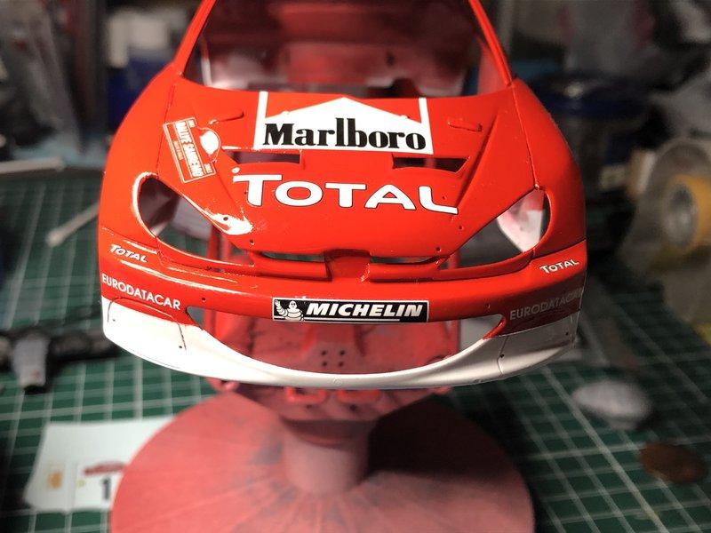 206 WRC 03,Gronholm-Rautianen,  Rallye San Remo, Tamiya 1/24 210215111052110054