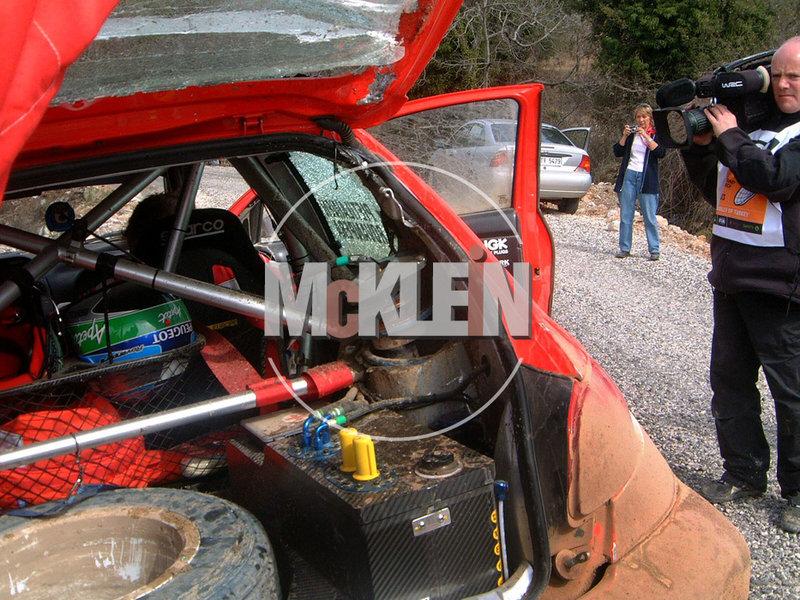 206 WRC 03,Gronholm-Rautianen,  Rallye San Remo, Tamiya 1/24 210215111111862234