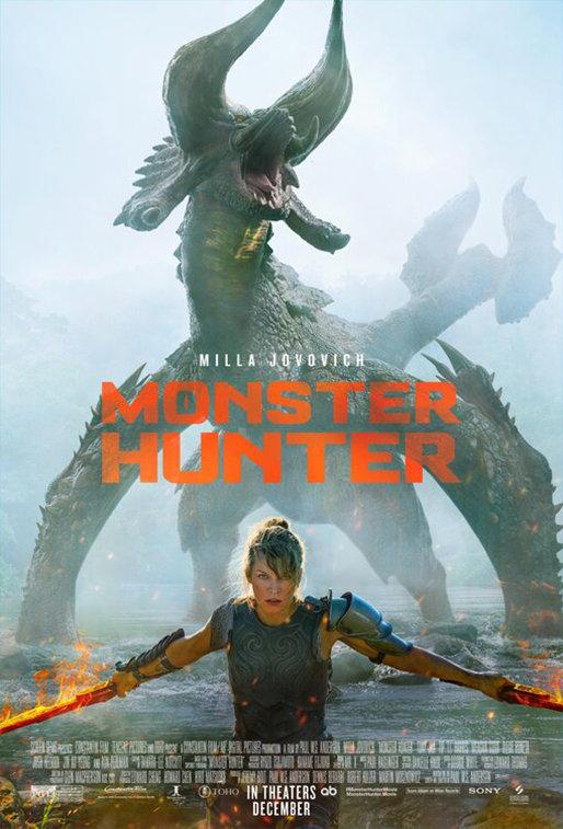 Monster Hunter (2020) poster image
