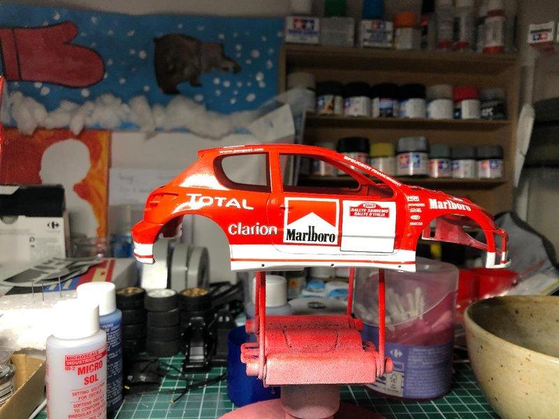 206 WRC 03,Gronholm-Rautianen,  Rallye San Remo, Tamiya 1/24 210218084747194933