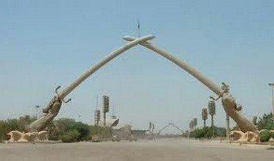La porte de la victoire, l'entrée phare de Thadimis