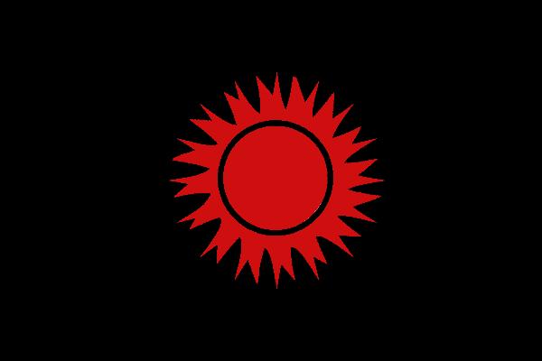 Drapeaux Junta Sacrée