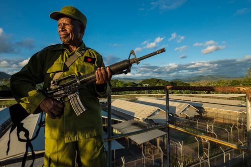 Soldat de l'Armée de Protection des Îles de la Junta Sacrée