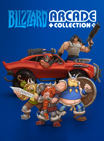 Poster for Blizzard Arcade Collection