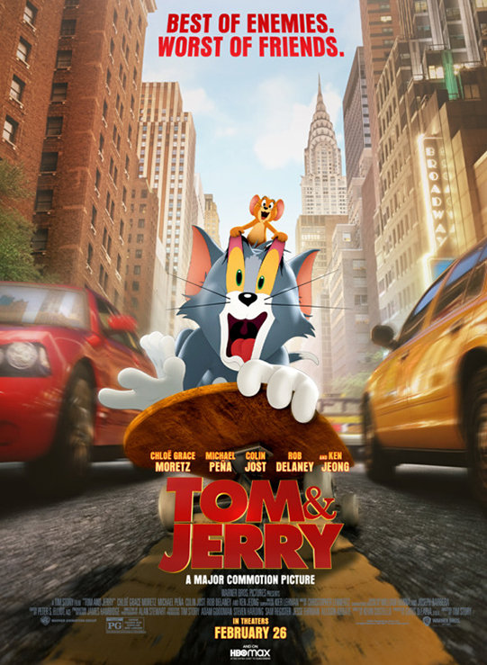 Tom and Jerry (2021) poster image