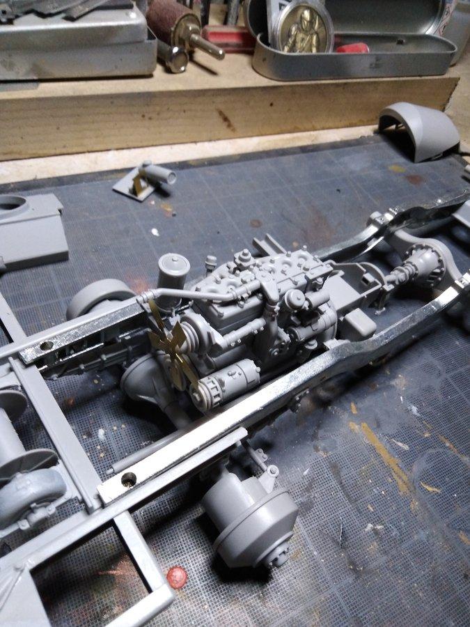 M16 trumpeter : le moteur
