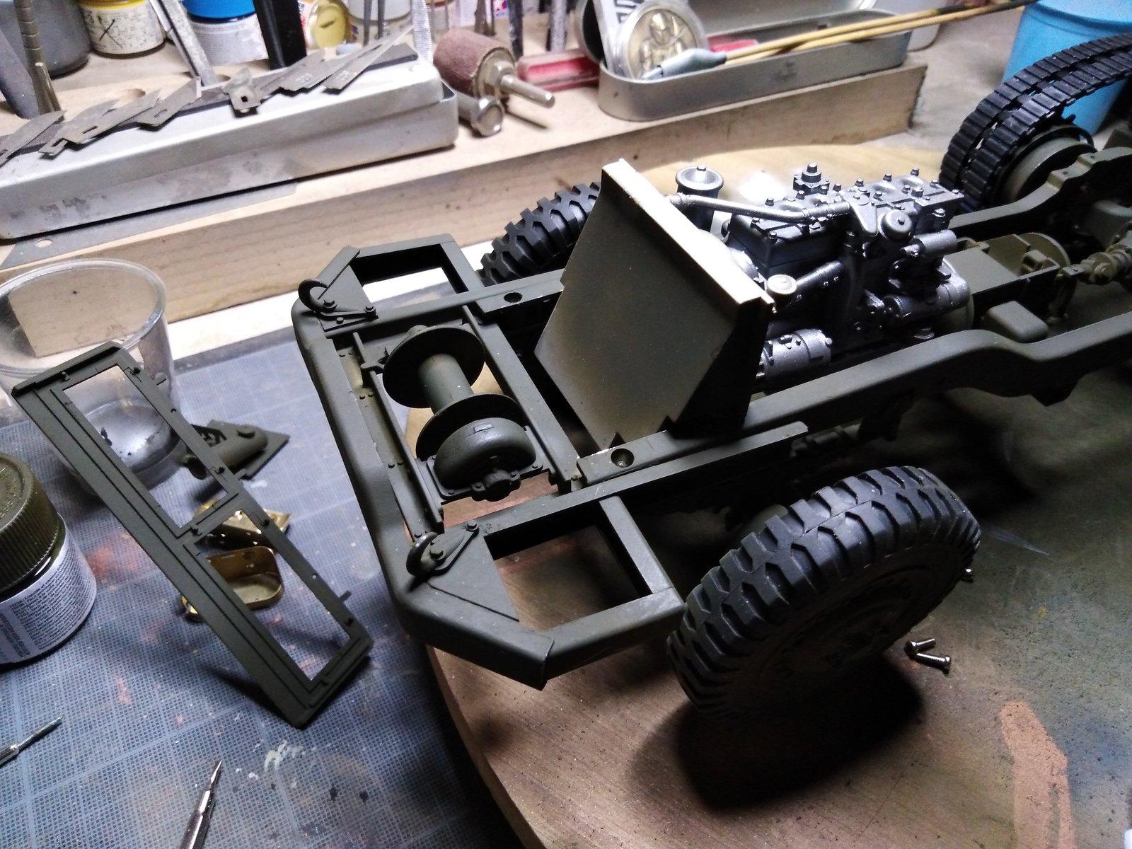 M16 trumpeter montage