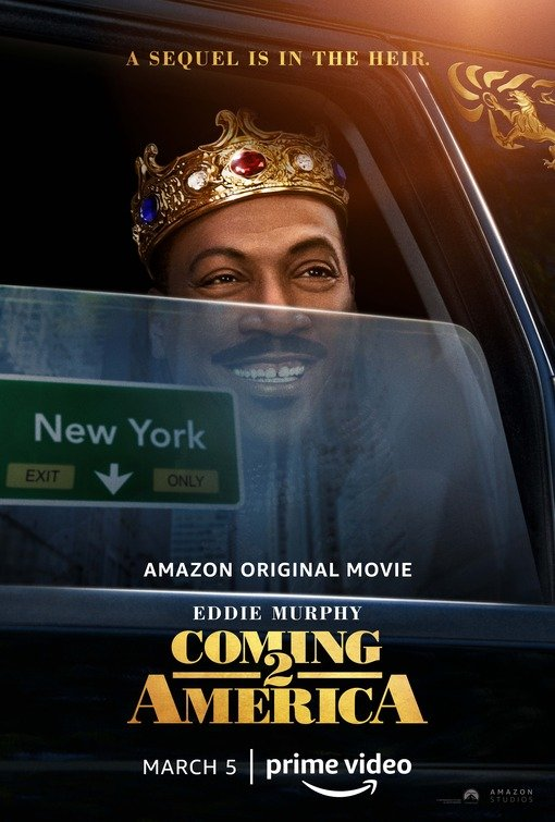 Coming 2 America poster image