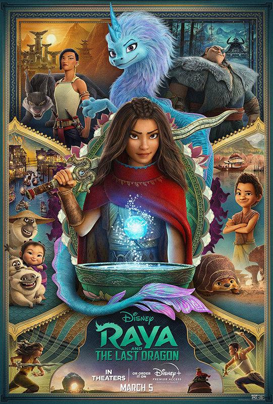 Raya and the Last Dragon (2021) poster image