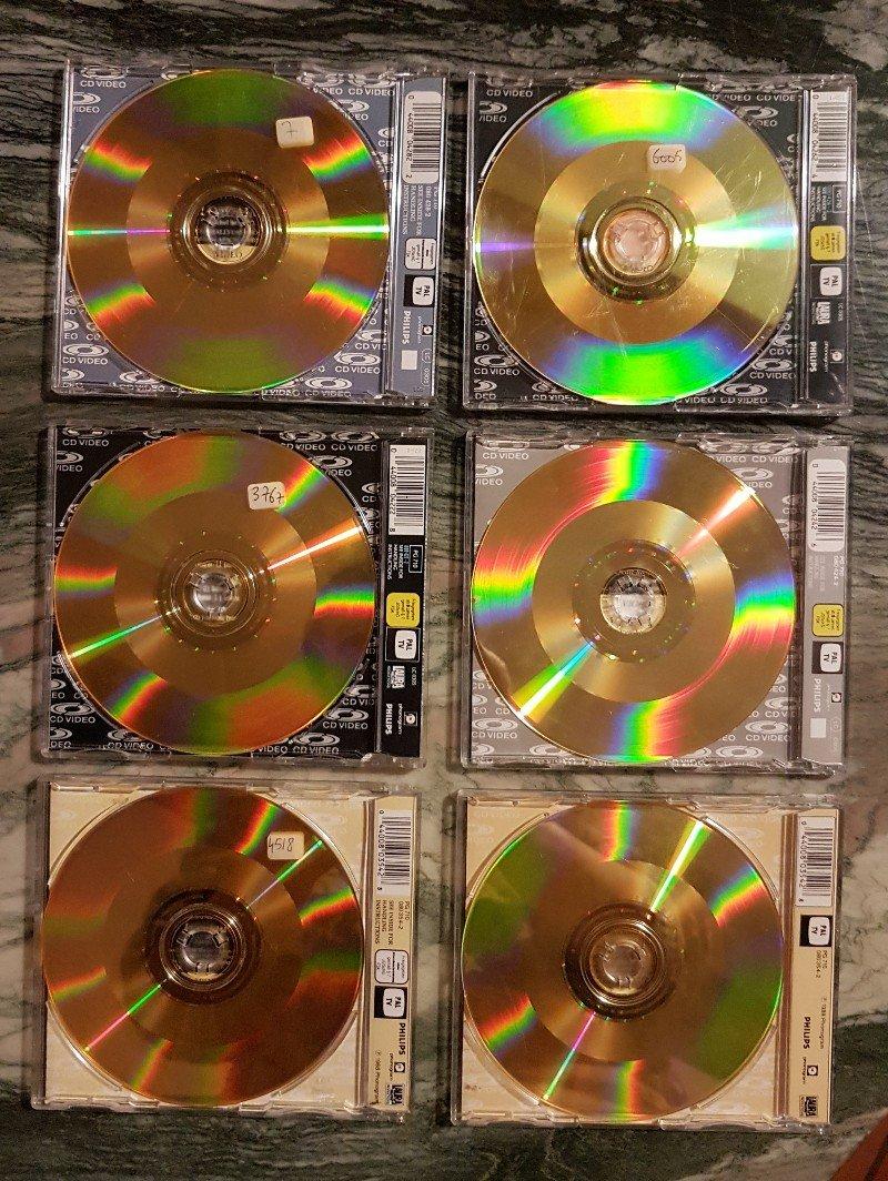 CD VIDEO JOHNNY HALLYDAY ( SERIE DE 5 )( 1985 - 1988 ) 210306080045912957