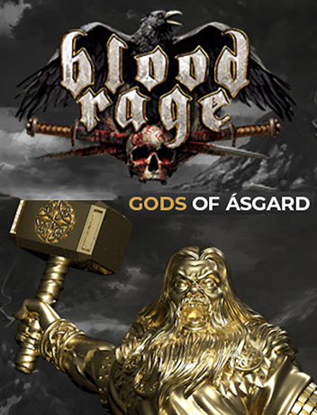 Poster for Blood Rage: Digital Edition - Gods of Asgard