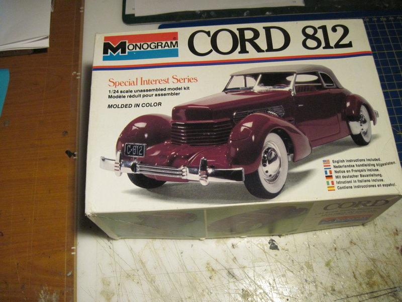 CORD 812 1937 MONOGRAM 1/24 210307082018482480
