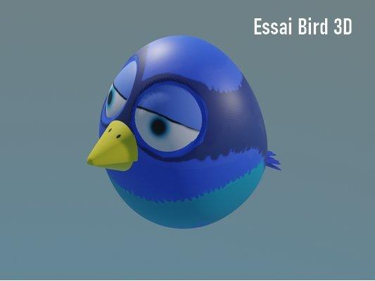 Bird-3D