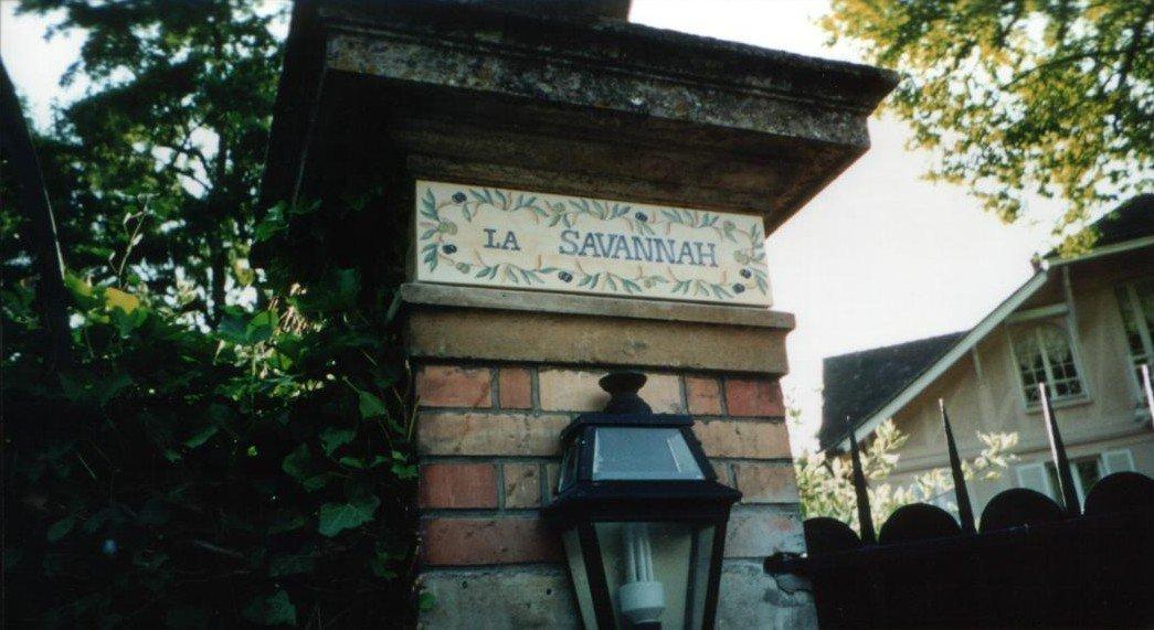 PROPRIETE OU A RESIDE JOHNNY HALLYDAY ( 9/10 ) 'LA SAVANNAH' ( 2000 ) 210309054116809001