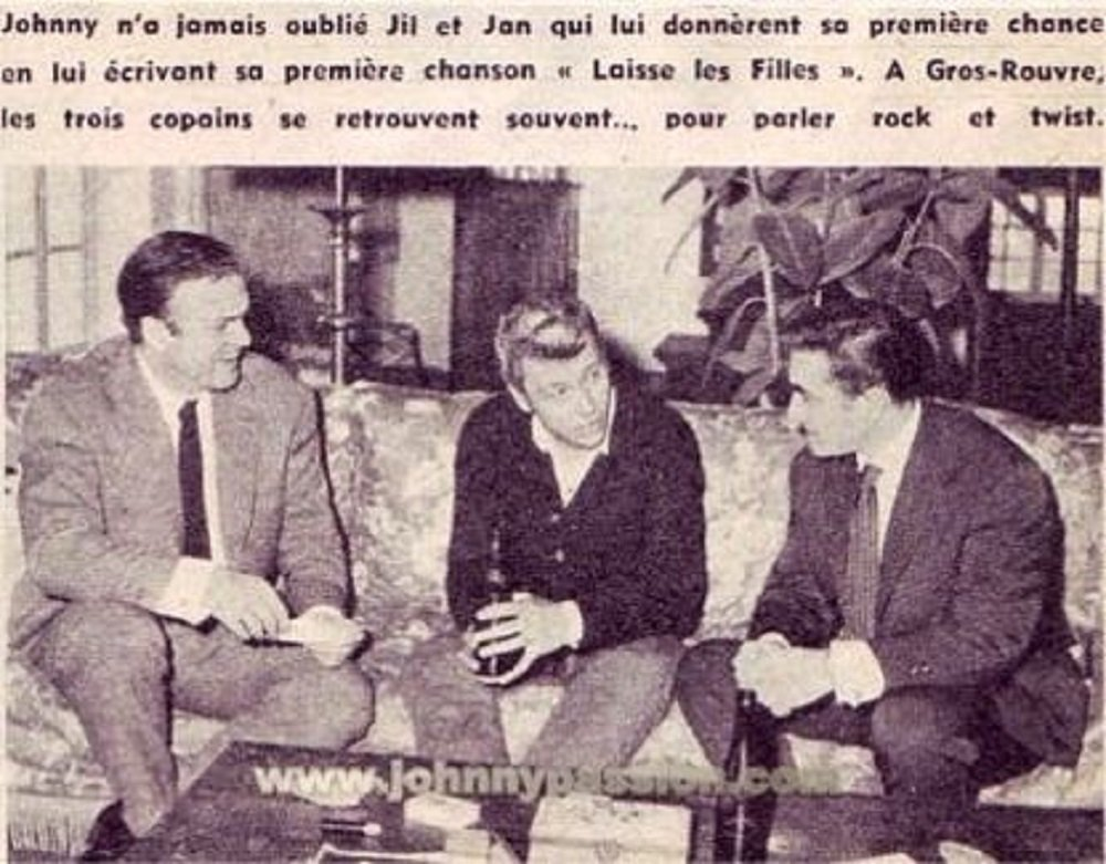 PROPRIETE OU A RESIDE JOHNNY HALLYDAY 'GROSROUVRE ( 1963-1965 ) 210312024026985717