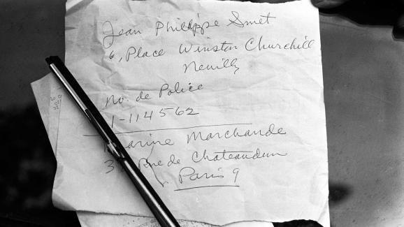 PROPRIETE OU A RESIDE JOHNNY HALLYDAY ( 3/10 ) 'NEUILLY SUR SEINE' ( 1965 ) 210312042119755533