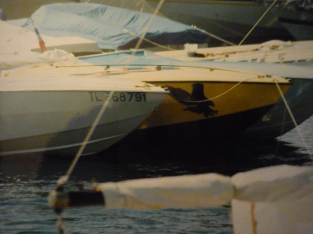 LES BATEAUX DE JOHNNY HALLYDAY 'WILD EAGLE' ( 1989 ) 210317014415197114