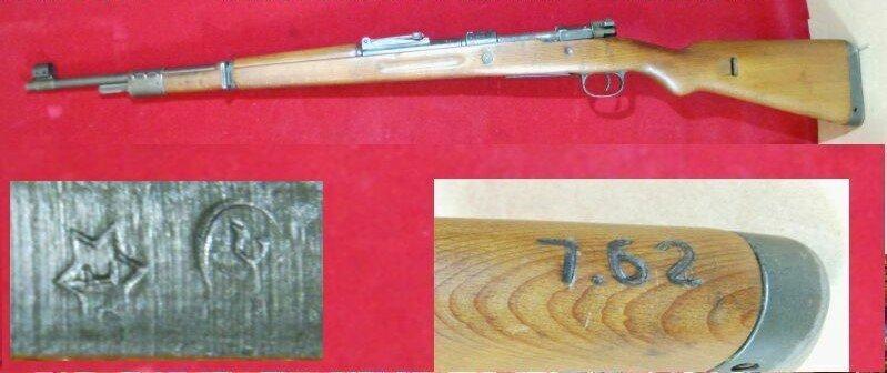 Mauser 98K Israël 7.62Nato 210317063305299913