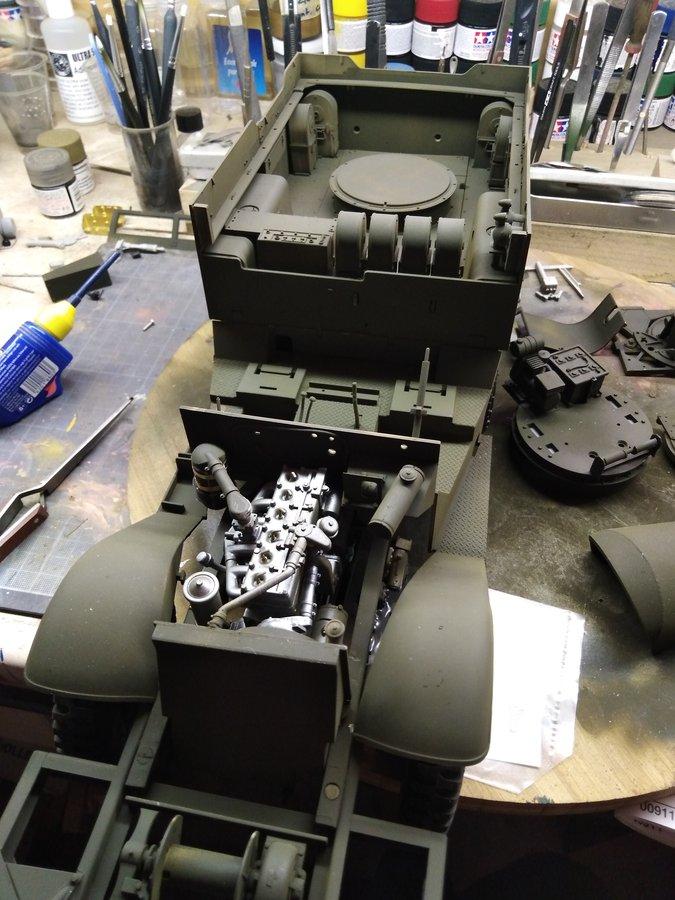 M16 trumpeter poste de combat