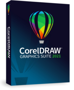 Poster for CORELDRAW GRAPHICS SUITE 2021