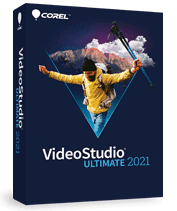 Poster for COREL VIDEOSTUDIO ULTIMATE 2021