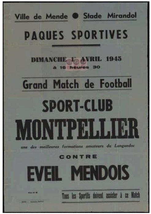 Sport Club Montpellier vs Éveil Mendois