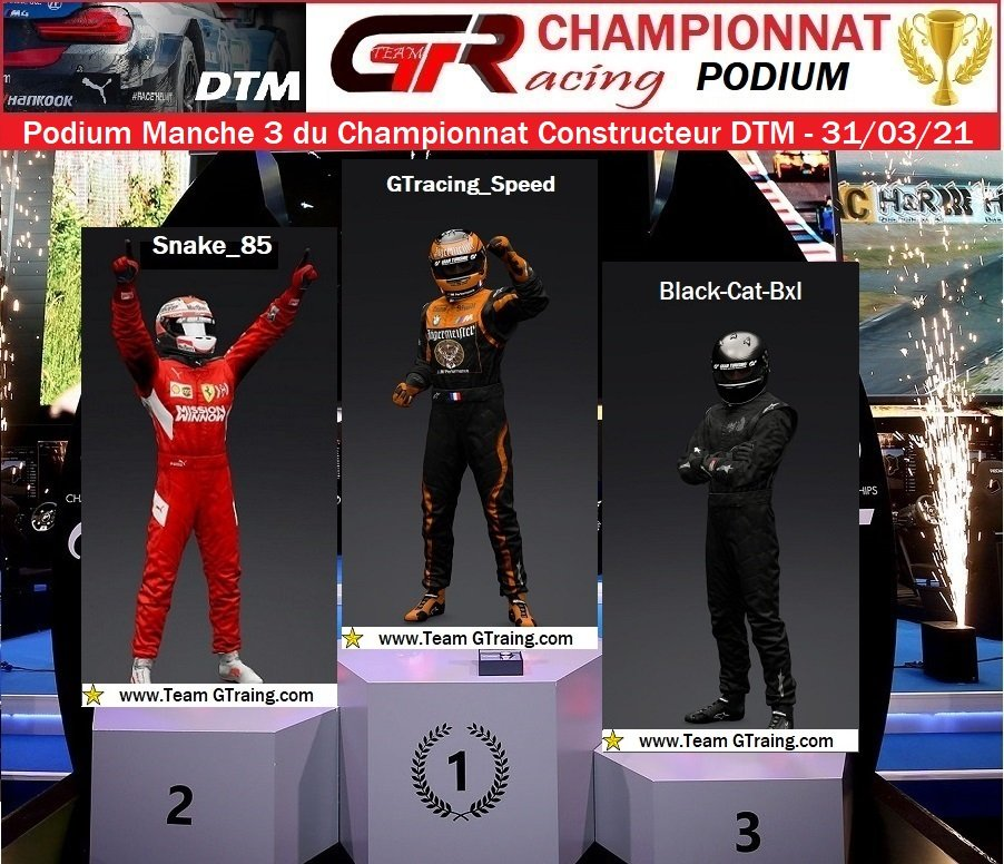 Résultat Manche 3 du Championnat Constructeur DTM - 31/03/2021 210402081805708083