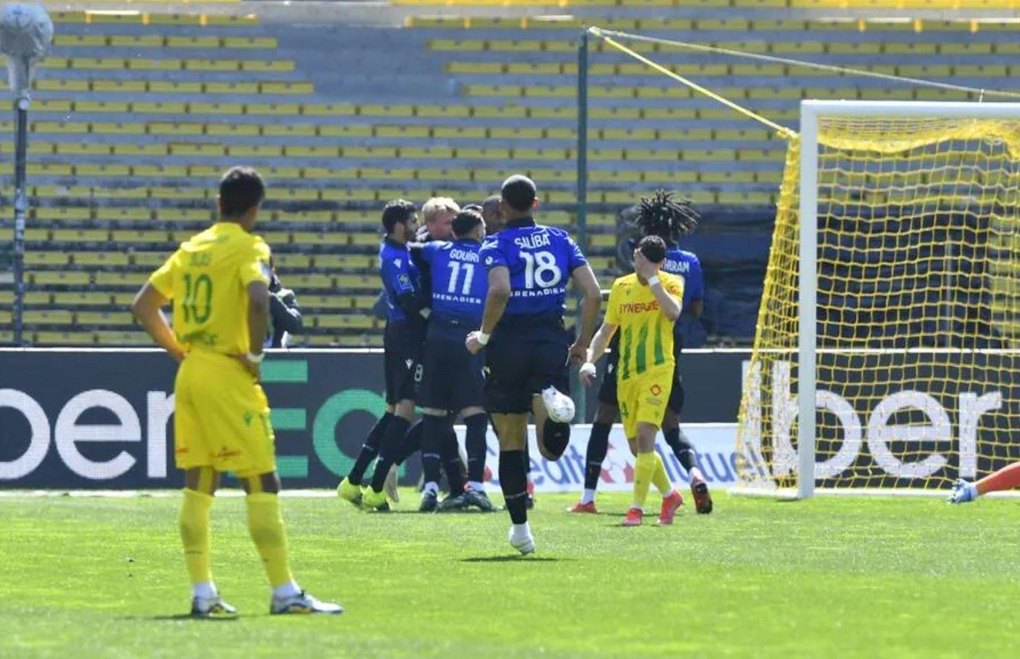 Nantes 1 - 2 Nice