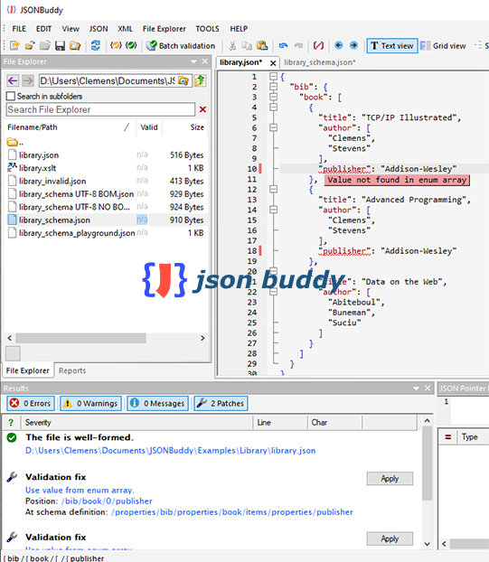 Poster for JSON Buddy